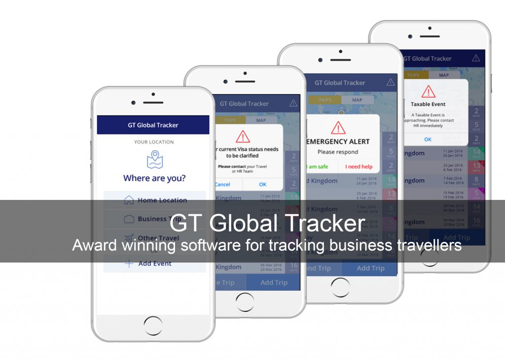 Business Traveller Tracking App