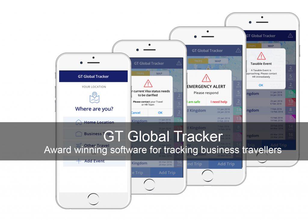 Business Traveller Tracking App